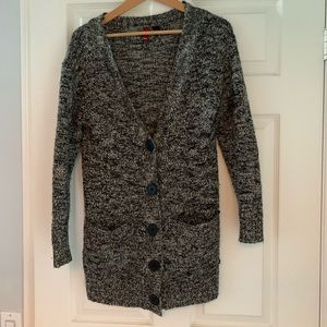 2/$20 Salt and pepper knit cardigan